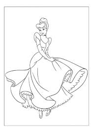 Small Picture Free Printable Cinderella Coloring Pages For Kids