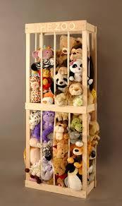The Zoo Stuffed Animal Storage. '