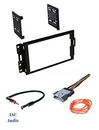amazon com asc audio car stereo radio dash install kit wire asc audio car stereo radio dash install kit wire harness and antenna adapter to