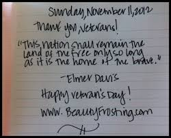 Thank You Veterans Quotes Enchanting Happy Veterans Day To Our Brave Ones VeteransDay Quotes Bravery