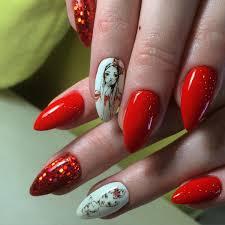 Beautiful Red Nail Art Designs | Design Trends - Premium PSD ...