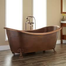 small acrylic clawfoot tub isabella copper double slipper clawfoot bathtub in conteporary bathroom bathroom design