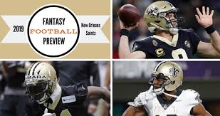 New Orleans Saints Wr Depth Chart Fitz On Fantasy 2019 New Orleans Saints Buying Guide The