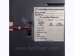 westinghouse motor control center wiring diagram westinghouse westinghouse cutler hammer 4000a wh spb 100 mo bi pow r trip 7 on westinghouse motor