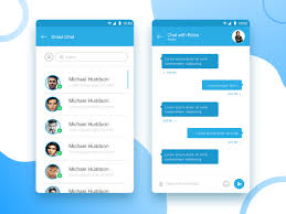 Chat Ui Design Android Chatting Android Mobile Ui Design Uplabs