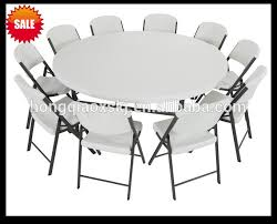 6ft plastic folding round tablebanquet folding tablebig
