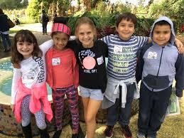 students enjoying an educational day at longwood gardens