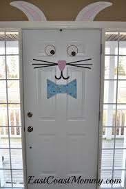 easter bunny door easter bunny easter and bunny