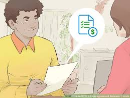 How To Write A Loan Agreement Between Friends With Pictures