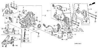 honda online store 2006 odyssey oil pump parts 2006 odyssey exl t 5 door 5at oil pump diagram