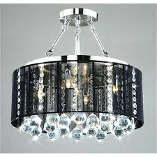special bronze drum chandelier e37765 top notch crystal chandelier with black drum shade 3 oil rubbed