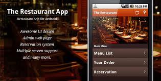 restaurant menu design app 15 android apps for app creators 2013
