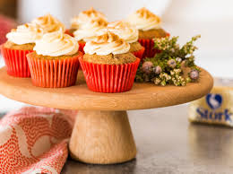 Rooibos Tea Cupcakes With Amasi Stork
