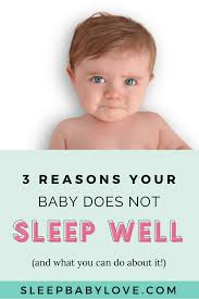 Baby Awake Time Chart 3 Reasons Why Your Child Is Not Sleeping Well Sleep Baby Love