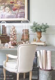 decorating with blush rose