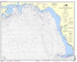 Tampa Bay Depth Chart 2018 Noaa Nautical Chart 11006 Gulf Coast Key West To Mississippi River