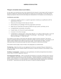 Resume Cover Letter Example To Unknown Recipient Adriangatton Com