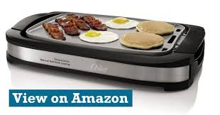 oster ckstgr3007 eco duraceramic reversible grill and electric griddle