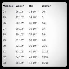 Daytrip Jeans Size Chart Daytrip Jeans Size Chart Elegant Women S Miss Me Jean Size