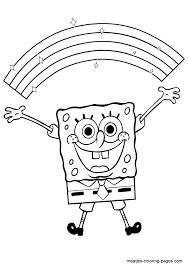 Spongebob Kleurplaten