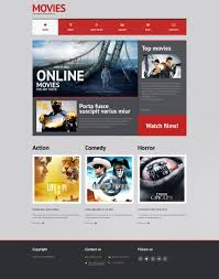 Wordpress Movie Theme Movie Responsive Wordpress Theme