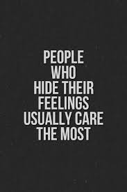 Feeling Quotes Interesting People Who Hide Their Feelings Funny Pictures Quotes Memes