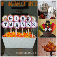 DIY Frugal Thanksgiving Centerpieces