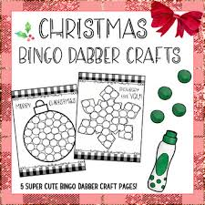 This article includes easy and hard versions of multiplication aimed at both younger and older kids. Christmas Bingo Dauber Worksheets Teaching Resources Tpt