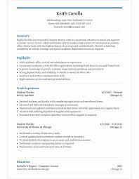 Resume Student Template Amazing Student Resume Template Templates For High School Students