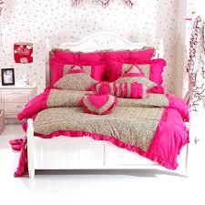 leopard bedding sets king size leopard bedding sets leopard duvet cover textile bedding set ruffle rustic
