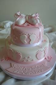 a shabby chic baby shower (it's a girl!) girly girls, girly and Baby Girl Cakes bootie footprint cake baby girl cakes for shower