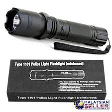 1101 Police Light Flashlight Idrop Type 1101 Police Light Flashlight Reinforced Stun Electric Tazor