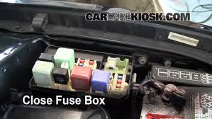 blown fuse check 1998 2002 toyota corolla 1999 toyota corolla ce 6 replace cover secure the cover and test component