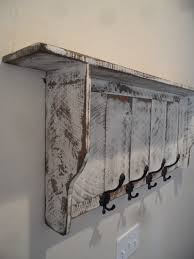 Shabby Chic Coat Rack French Country Coat rack Cottage Chic coat by LynxCreekDesigns For 12