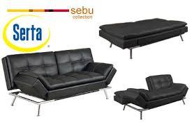 matrix convertible futon sofa bed