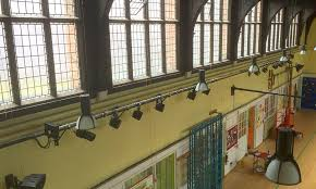 green flag school focusses on new low energy stage lighting system