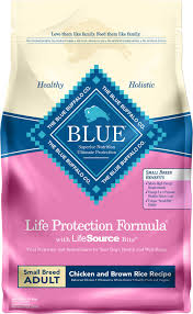 Blue Buffalo Life Protection Formula Small Breed Adult Chicken Brown Rice Recipe Dry Dog Food 6 Lb Bag