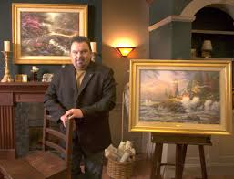 is your thomas kinkade painting about to increase in value aol finance