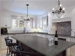 stone kitchen countertops. Pure Grey/Dark Grey Quartz Kitchen Countertop Smoke Stone Slabs Engineered Countertops