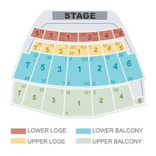 Detailed Seating Chart The Masonic San Francisco Seating Chart The Warfield