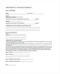 Sale Of Car Contract Car Sale Payment Contract Template Car Sale Car Sale Contract South