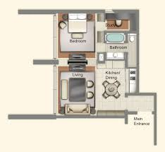 one bedroom suite a