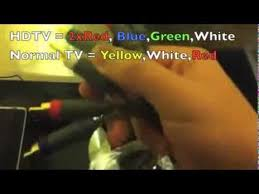 how to connect xbox 360 to hdtv using component hd av cable how to connect xbox 360 to hdtv using component hd av cable tested