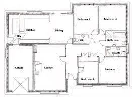 four bedroom house plans. 25+ Best Four Bedroom House Plans Ideas On Pinterest   One Floor . E