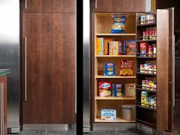image of modern freestanding pantry