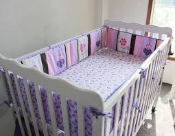 bed baby paracolpi lettino cot linen 4 5pcs baby bedding sets purple owl baby girl bedding set elephant