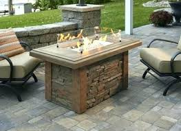 gas fire pit outdoor fireplace table special various 7