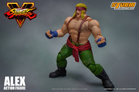 storm collectibles previews street fighter v alex figure the