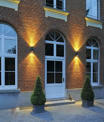 led cylindrical ip55 exterior wall light up down