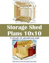 kreg shed plans shed building plans 8x8